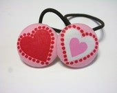 SWEETHEARTS.........2 PONYTAIL HOLDERS
