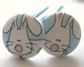 Easter Bunny-------2 Ponytail Holders