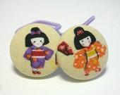 Japanese Geisha Girls.....................2 ponytail holders
