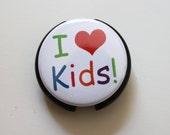 I Heart KIDS----Stethoscope ID Tag