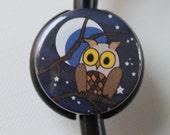 The ORIGINAL Stethoscope ID Tag---Night Owl--