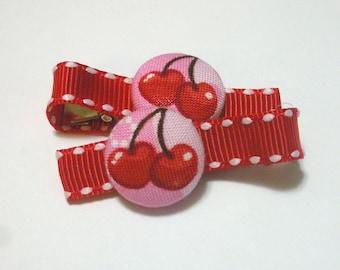 Cherries.......2 button clippies