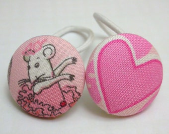 ANGELINA BALLERINA-------2 ponytail holders