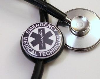 The ORIGINAL Stethoscope ID Tag--EMT--