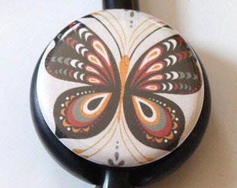 The ORIGINAL Stethoscope ID Tag---Butterfly--