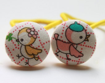 BIRDIE FRIEND-------2 Ponytail Holders