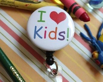 I Love KIDS..... BADGE REEL