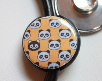 The ORIGINAL Stethoscope ID Tag--Pandas--