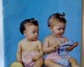 Vintage 1950s Knitting Patterns Bernat Handicrafter Baby Handknits