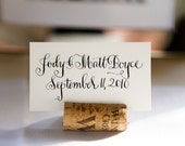 Wine Cork Place Card Holders- Set of 100