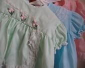 3 Vintage Baby Dresses