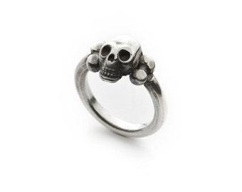 SKELETOR skull ring