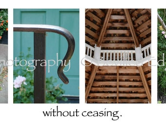 PRAY without ceasing Photo Alphabet Letter Word Art