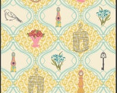 LillyBelle by Bari J, French Sampler in creme, 1 yard