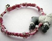 Pink Poodle Bracelet