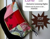 Luna - PDF Sewing Pattern - Exclusive LICENSING Rights