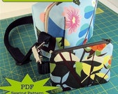 couture camera cozy - DIY PDF Sewing Pattern - camera case and zip pouch