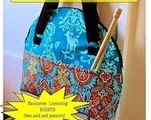 Take Me Away - Weekend Bag - PDF Sewing Pattern - EXCLUSIVE Licensing RIGHTS