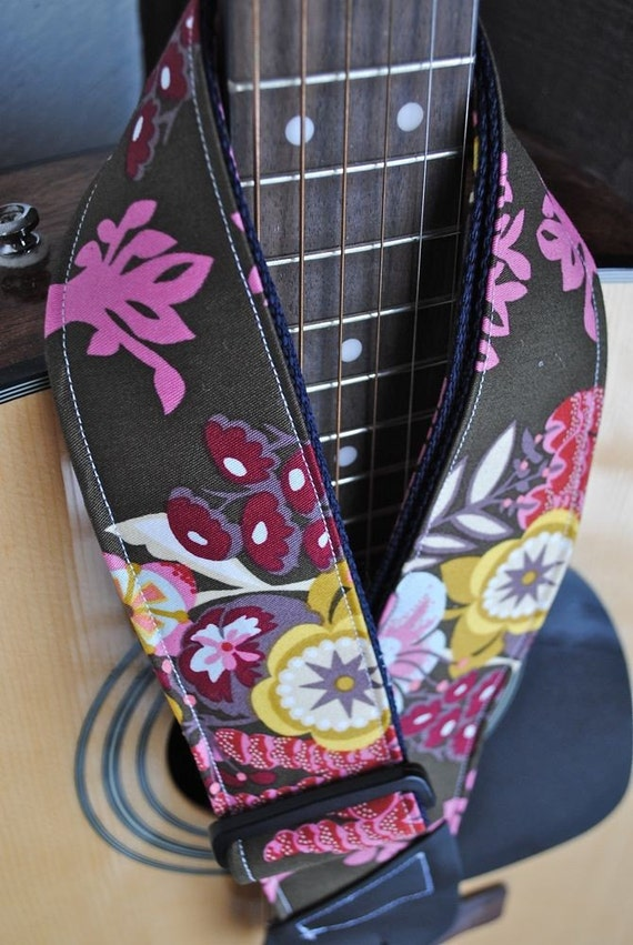 Adjustable Acoustic Guitar Strap - Shades of Feminine