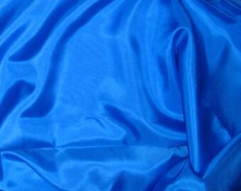 ROYAL BLUE China Silk HABOTAI Fabric - 1/2 Yard
