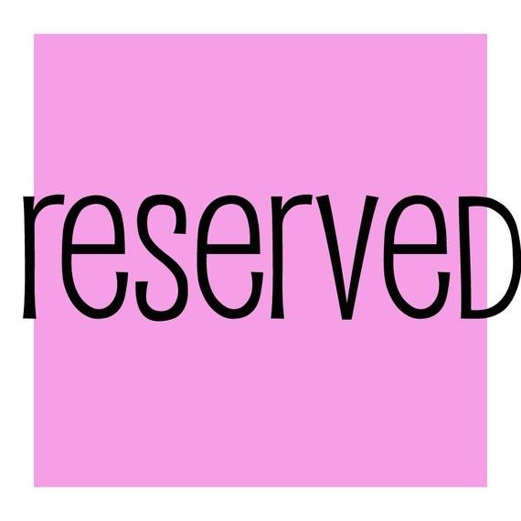 reserved for jsteuten