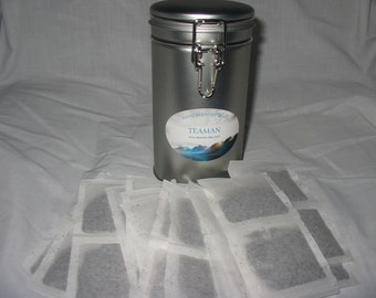 Black Tea Sampler in a gift tin 19 flavors, 5 teabags of each, Total of 95 teabags