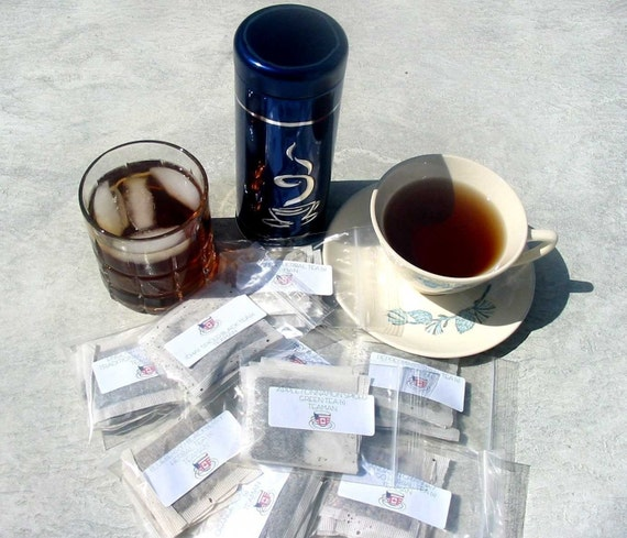 Green Tea and White Tea Sampler 12 flavors, 5 teabags of each, Total of 60 teabags
