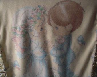 Precious Moments No-Sew Blanket