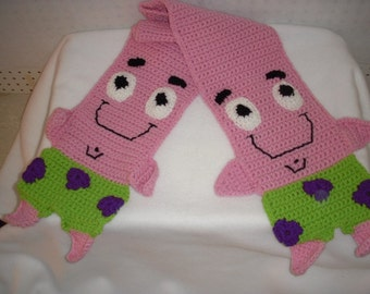 StarFish Crochet Scarf - Patrick