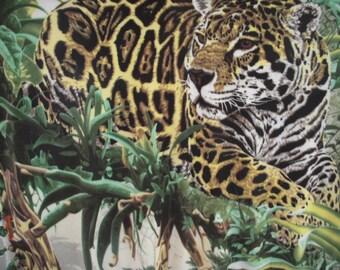 Jaguar NoSew Fleece Blanket