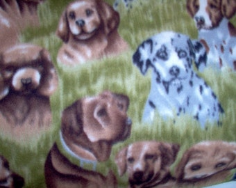 Puppy  No-sew Fleece Blanket
