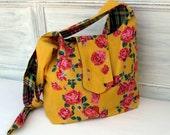 Sunshine and roses shoulder bag