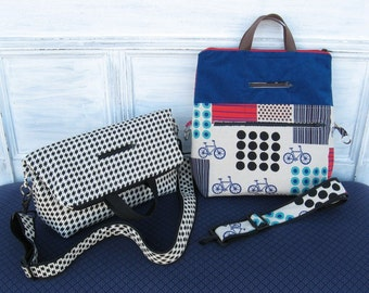 PDF Sewing Pattern Tote and Shoulder Bag Convertible Bag