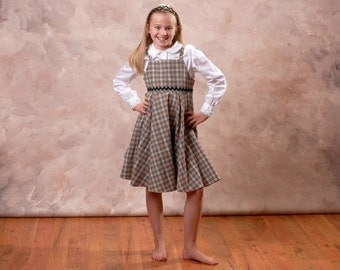 Sewing Pattern Girls Dress PDF All Season