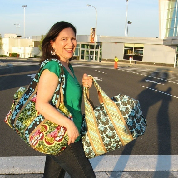 Quilted Travel Duffel Pattern