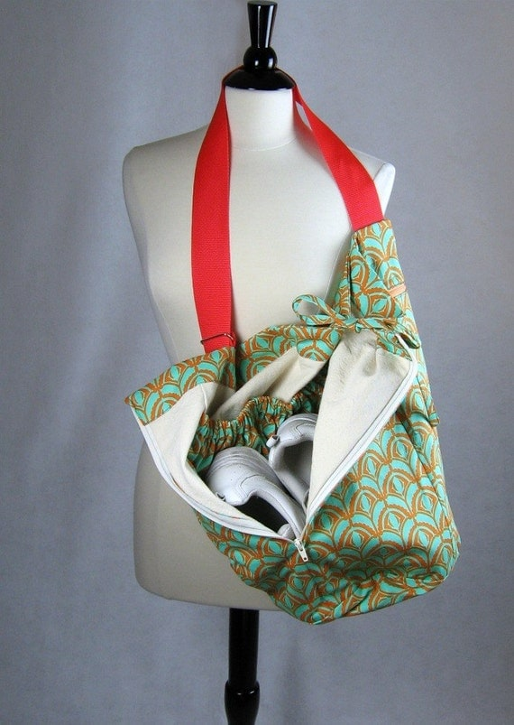 Gym Bag Sewing Pattern And Yoga Mat Carrying Strap Project
