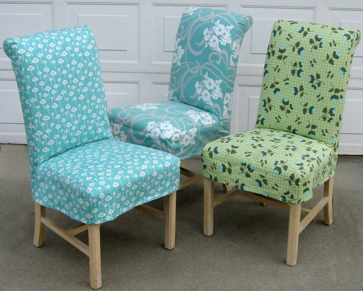 Parsons Chair Slipcover PDF format Sewing Pattern by ...