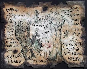 cthulhu larp DEMONOLOGY Necronomicon Fragment