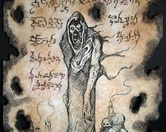 THE LICH cthulhu larp necronomicon magick occult horror