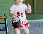 Little Cowboy Bloomers and Matching Onesie Set