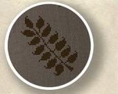 Leaves on a Twig. Cross Stitch PDF Pattern