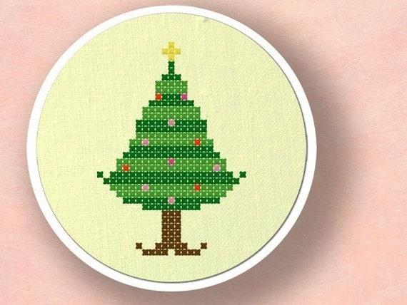 Christmas Tree II. Cross Stitch PDF Pattern