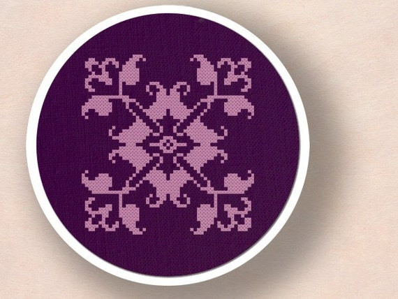 Design No.8 . Cross Stitch PDF Pattern