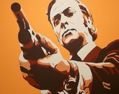 ART PRINT from my original Michael Caine painting