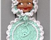 Doll Face Potholder