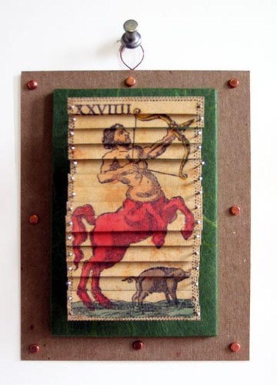 Sagittarius Astrology Tarot Sculpture Nov 22- Dec 12