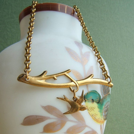 Out on a Limb.  Necklace