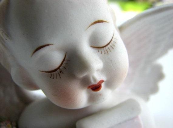 Lamore China Porcelain Angel ... Occupied Japan ... Lefton