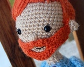 I'm With Coco Conan O'Brien Doll Amigurumi Crochet PATTERN PDF