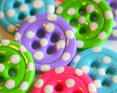 Fruity- (Set of 8 handmade buttons)